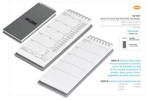 Health Kick Nutrition Journal