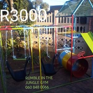 Brand New Jungle Gyms