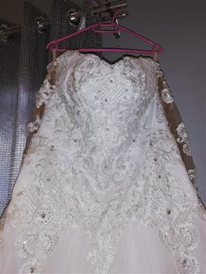 Wedding Dress and Corset