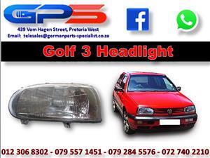 VW Golf 3 Headlight New Part for Sale