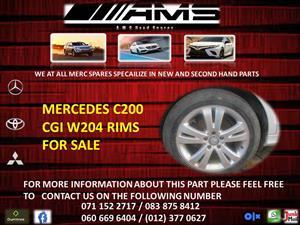 MERCEDES C200 CGI W204 RIMS