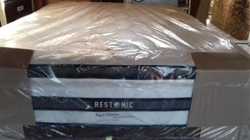 Restonic Royal Heritage Pillow Top Queen Mattress only