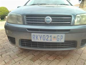 2004 Fiat Punto Grande  1.4 5 door Dynamic