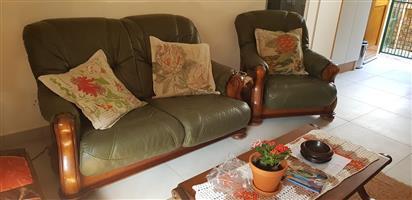Leather Grafton Everest  living room set