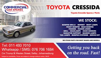 Toyota Cressida 83- parts and spares for sale