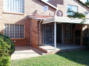 Upmarket 2 or 3 bedroom duplex close to schools and main routes in Hennopspark