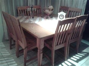 8-Seater Dining Room Suite for sale R7000 NOT NEG