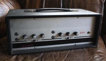 Vintage 1963 WEM ER30 Vintage 30-Watt Guitar Valve AMP - UK Built - Handwired!! - Pink Floyd