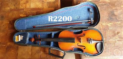 Antonius Stradivarius Cremonenfis Faciebat Anno 1709 Reghin - Made in Romania (530mm long)