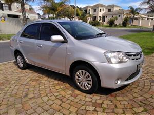 2012 Toyota Etios sedan 1.5 Xi