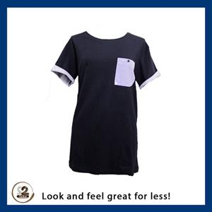 High quality blue and white t-shirt and more from 2nd Take