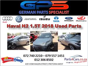 Haval H2 1.5T 2018 Used Spares for Sale