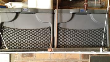 2 x lockable Ford Ranger cargo cases