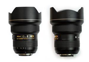 Nikon AF-S 14-24mm f2.8G ED Lens and Lee SW150 Filter Holder and Adaptor