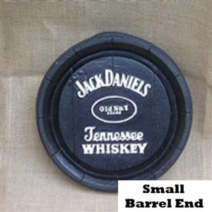 Jack Daniel's Tennessee Bourbon Whiskey Barrel Ends. Brand New Products.