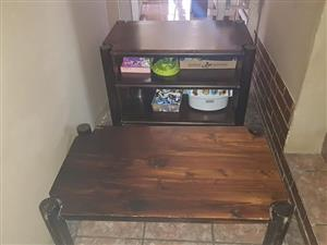 TV unit with a coffee table