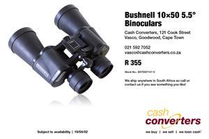 Bushnell 10×50 5.5° Binoculars