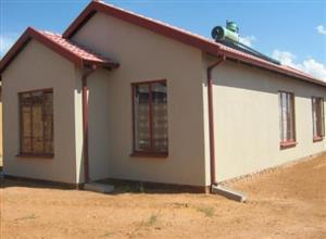 New house  in  soshanguve