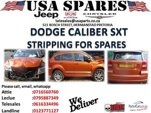 DODGE CALIBER SXT STRIPPING FOR SPARES