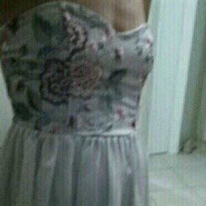 Short Formal Lilac Dress