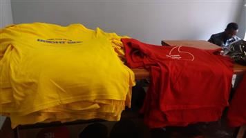 T-shirt Printing - Plain Stringer Vests, Stringer Hoodies, Tracksuits, Hoodies for Kids & Adults Supply, Print & Delivery
