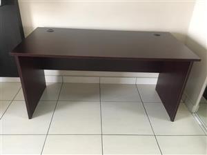 Dark wooden desk for sale