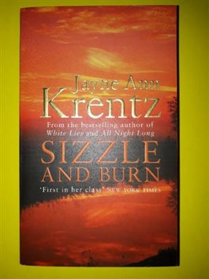 Sizzle And Burn - Jayne Ann Krentz - Arcane Society #3.