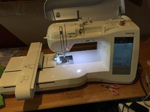 Brother 1500d Embroidery Machine
