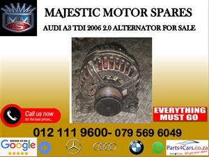 Audi A3 alternator for sale