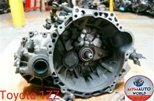 Imported used TOYOTA 1ZZ AUTOMATIC gearbox Complete