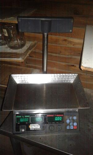 Butchery Scale