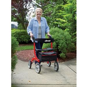 Nitro Rollator by Drive Medical. The Best in Style, Comfort and Convenience. While stocks last