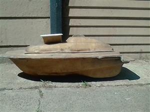 Bait boat moulds