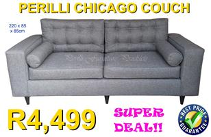 PERILLI CHICAGO Three Seater Couch