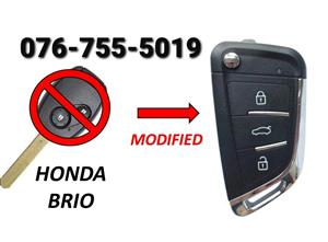 Honda Brio Spare Key