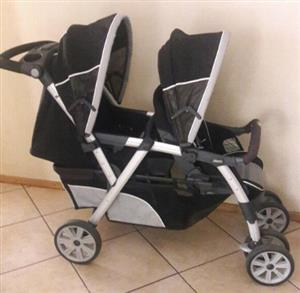 Twin Chicco Cortina Together Double Strolle
