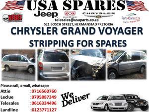 Chrysler Grand Voyager SE stripping for spares