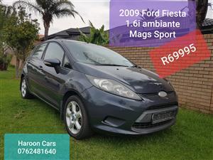 2009 Ford Fiesta 1.6i 5 door Ambiente