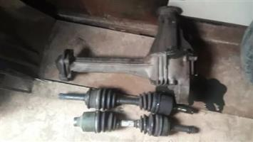 Kia sportage 2l front diff and side shafts