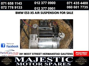 Bmw e53 air suspension pump for sale