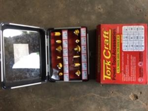 Brand new Router Bit Set for sale. Price is NEGOTIABLE