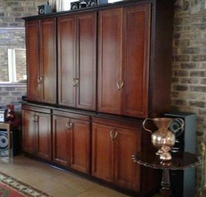 Wall unit or liquor cabinet