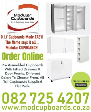 D.I.Y Pre-Assembled Cupboards Made Easy!