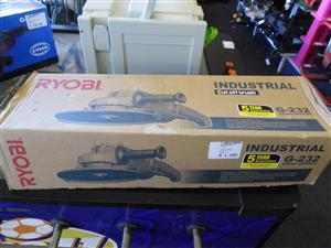 2100W Ryobi G-232 Industrial Angle Grinder