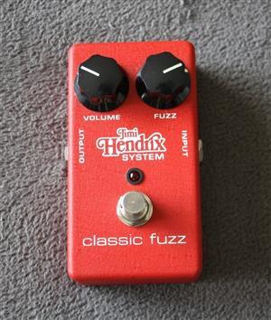 MXR Jimi Hendrix Classic Fuzz Guitar Effects Pedal