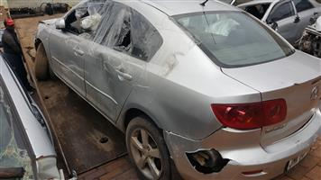 MAZDA 3 STRIPING FOR SPARES