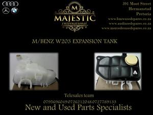 M/BENZ W203 NEW EXPANSION TANKS FOR SALE.,