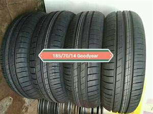 185/70/14 Goodyear New tyres for Sale