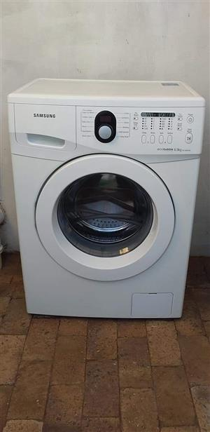 Samsung eco bubble 6kg frontloader washing machine