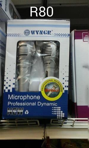 Dynamic microphones for sale